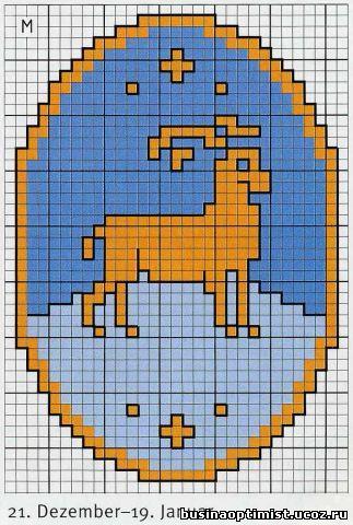 Знак зодиака Козерог.